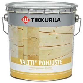 Грунтовочный антисептик Tikkurila VALTTI-POHJUSTE (ВАЛТТИ ПОХЪЮСТЕ)